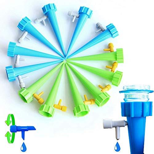 Netrox Wasserspender für Pflanzen | 15x automatische Bewässerung für Garten Pflanzen Blumen und Zimmerpflanzen Bewässerung | automatisches gießen | Wasserspender Bewässerungssystem