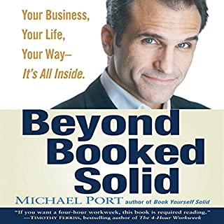 Beyond Booked Solid audiobook cover art