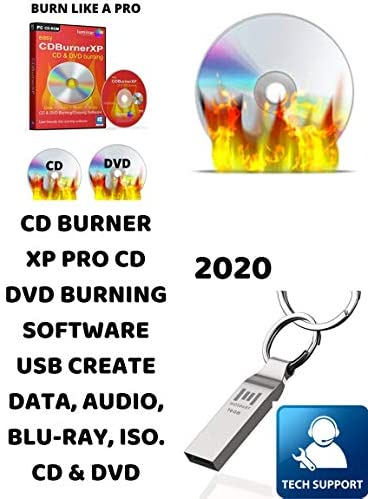 PRO CD DVD BURNER XP USB FREE DO IT YOURSELF VIDEO DVD BURN AND CREATE DATA AUDIO BLU RAY ISO product image