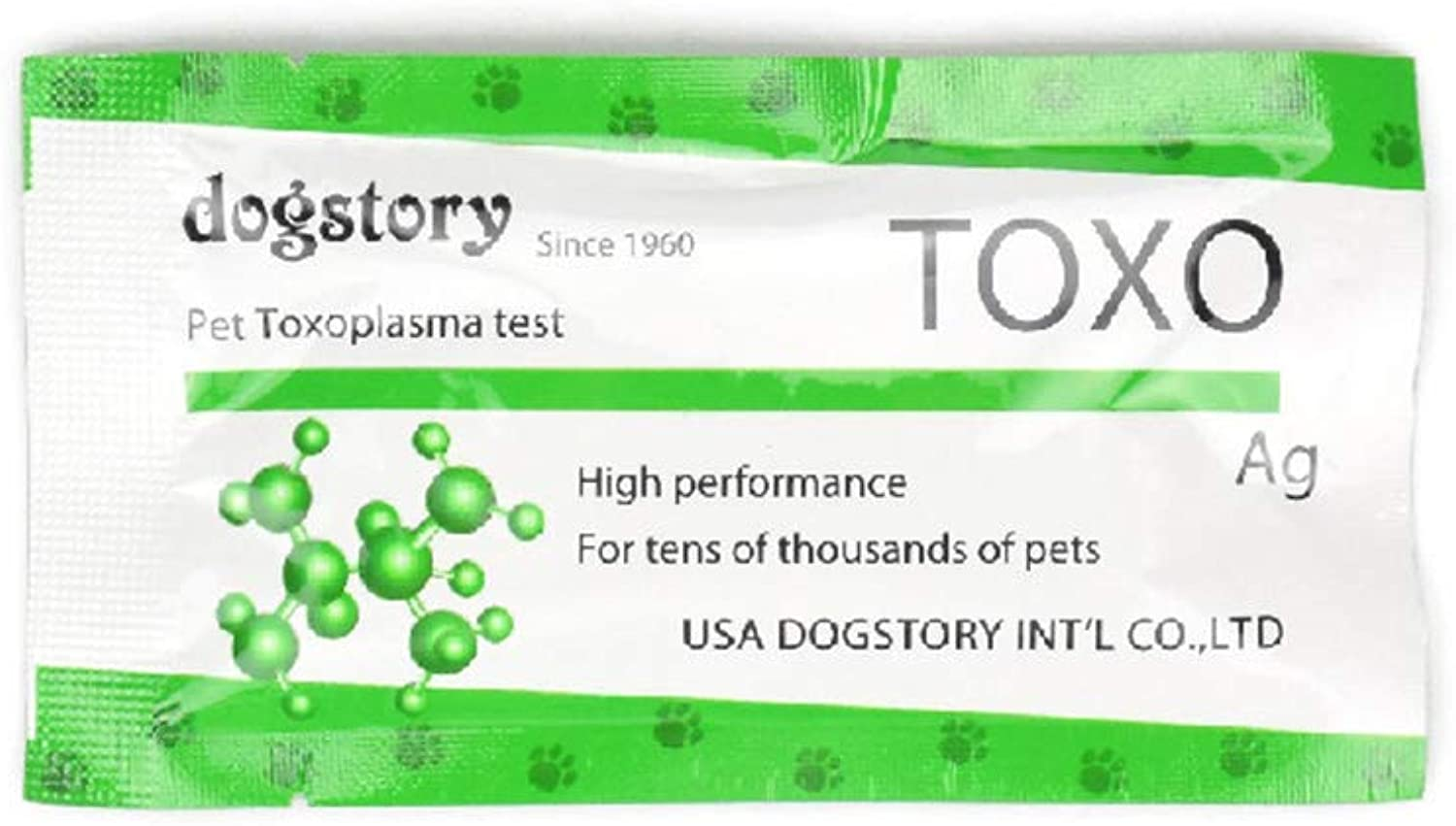 PetDream Dog Cat TOXO Pet Test Paper Human Animal Disease Detection Card (10 Packs)