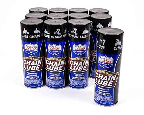 Lucas Oil Chain Lube 11.00 oz Aerosol Case of 12 P/N 10393-12