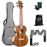 koa concert ukuleles