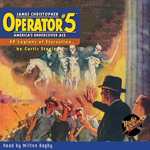 Operator #5 V9: Legions of Starvation cover art
