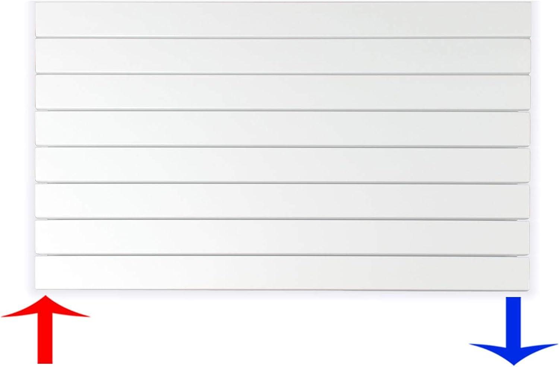 Design Paneelheizkrper Heizkrper Badheizkrper horizontal 60 x 100 (669 Watt nach EN442)
