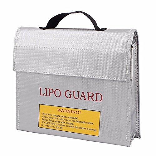 Akku/Lipo Tasche feuerfest-Safe Guard Bag in groß und klein! Größe 24x18x6,5cm