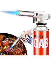Tochefarner 戶外 瓦斯噴槍 900℃~1300℃ 可調節火焰 燒烤 燒烤 炭火越凍結冰 釣魚 焊接等