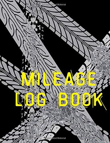 mileage log book: Vehicle Mileage Tracker Book