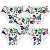Bambino Mio 5TP3+ OS Allenatrice Set di 5 Mutandine , 3+ Anni, Multicolore (Misto Bimbo Spazio)