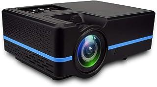أنظمة المسرح المنزلي JHMJHM VS313 120ANSI Lumens HD1920*1080P LED+LCD Technology العارض الذكي، يدعم AV / HDMI / بطاقة TF /...