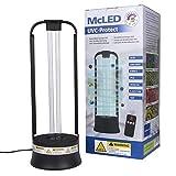 ☆ ANWENDUNG: Die keimtötende McLED UV-C Lampe kann ferngesteuert verwendet werden und besitzt einen 360° Grad Bewegungssensor, der die Lampe bei etwaigen Bewegungen von Personen oder Haustieren sofort abschaltet. Die empfohlene Betriebszeit daue...