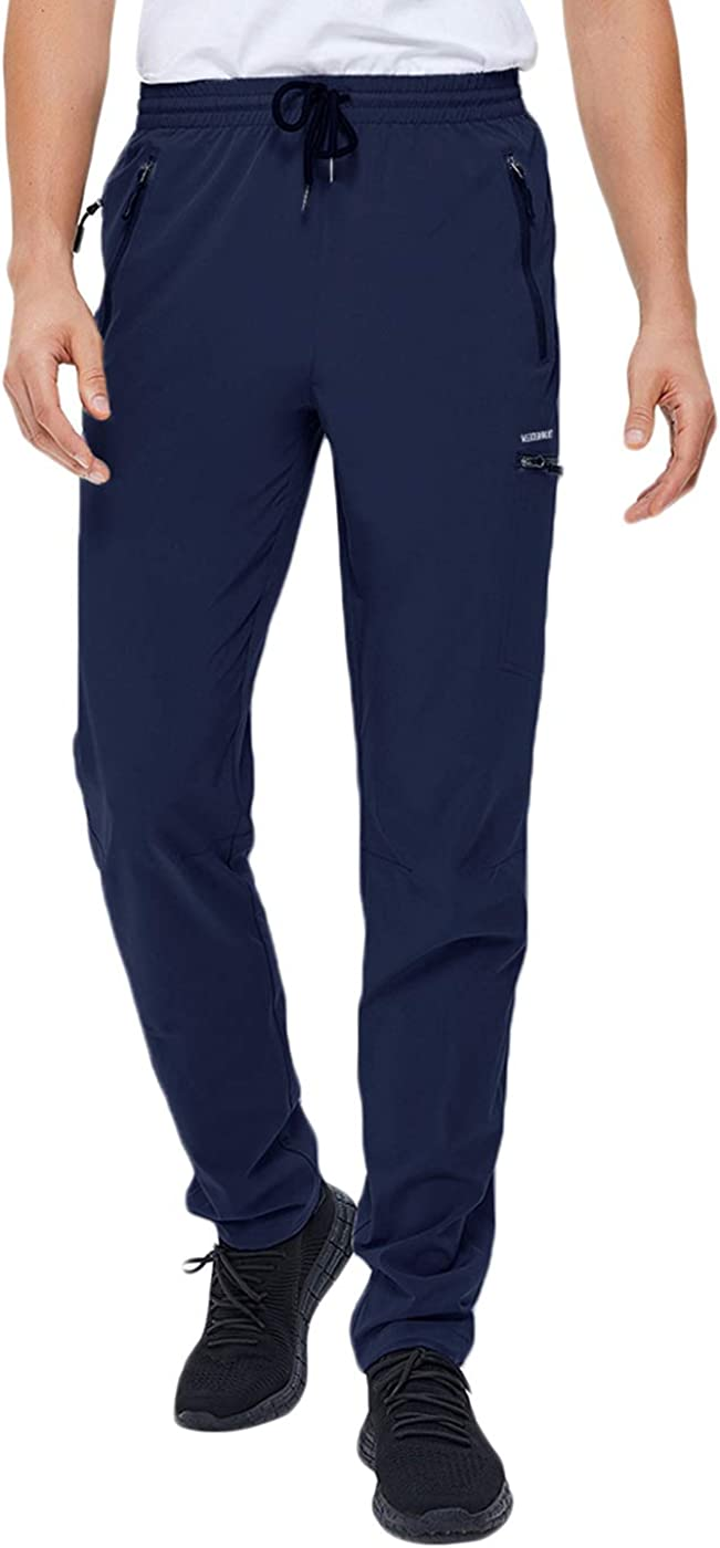 VEOBIKE Cheap mail order specialty store Mens Hiking Minneapolis Mall Stretch Pants Dry Quick Water Lightweight Re