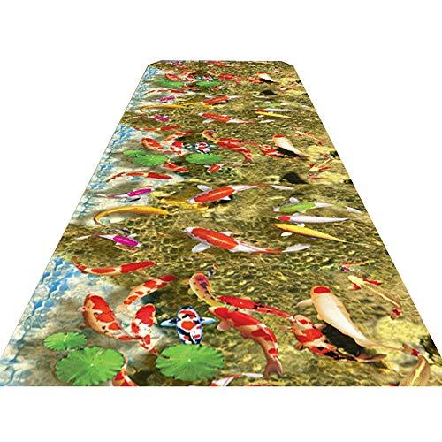 Byx- Teppichboden, Flurenteppich, weicher Rutschfester Teppichboden, Antifouling, feuchtigkeitsfest, pflegeleichter Teppichboden, 2 Ausführungen - Bereich Teppiche (Farbe : A, größe : 1.4x5m)
