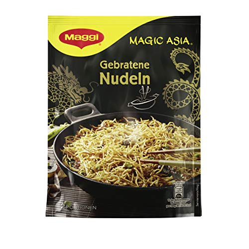 Maggi Magic Asia Gebratene Nudeln, Classic, 12er Pack (12 x 121 g)
