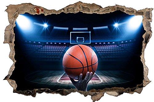 Basketball Sport Training Wandtattoo Wandsticker Wandaufkleber D0616 Größe 40 cm x 60 cm