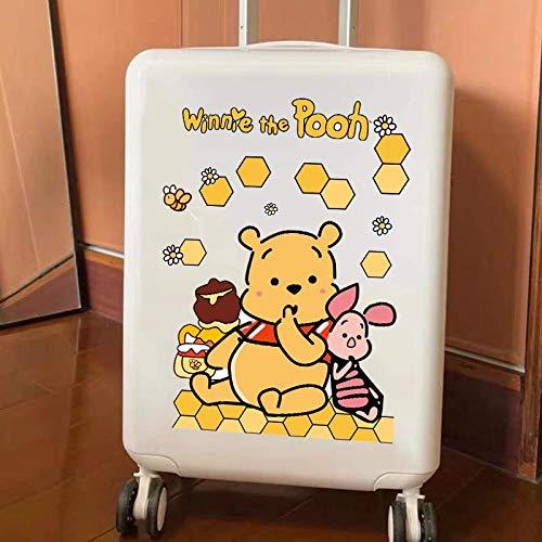 DSSJ Cartoon Bear Stickers Bagagli Valigia Bagagli Trolley Bagagli Adesivi murali da Tavolo Impermeabile Foglio Intero Grande