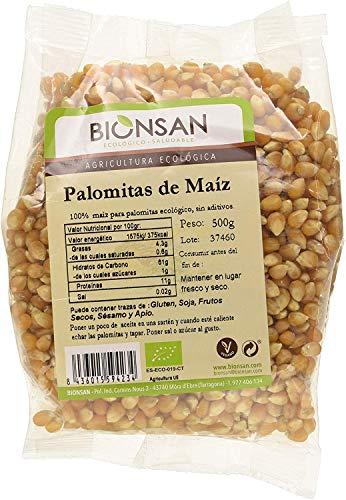 Bionsan Maiz para hacer Palomitas Ecológicas, 500 g