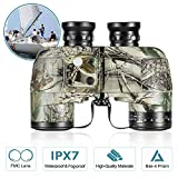 BNISE HD Binoculars - Navigation Compass and...