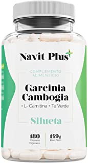 Garcinia Cambogia 1200mg DDR + L-Carnitina + Té Verde |