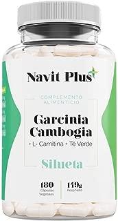 Garcinia Cambogia + L-Carnitina + Té Verde. Reductor del