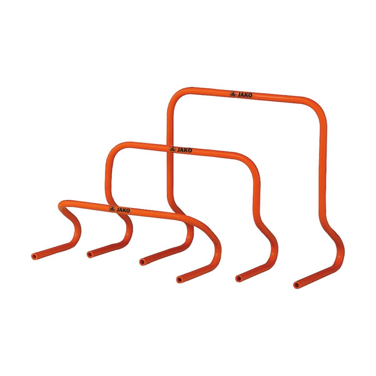 JAKO Unisex– Erwachsene Hürden-Set-2132 Hürden-Set, Orange, One Size