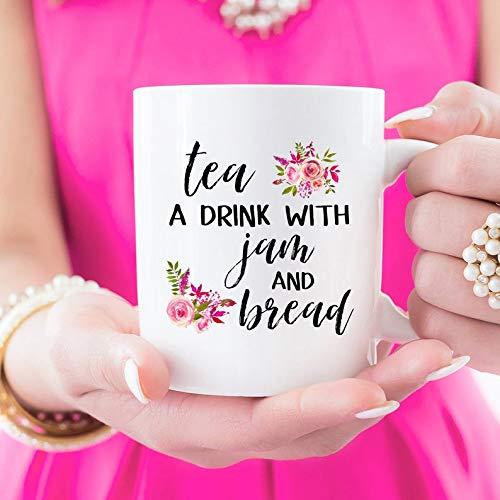 Tea A Drink With bread And Jam The Sound Of Music Mug 11 oz Ceramic Mug Teacup Mug Coffee Mug 50th Anniversary Parent Gift Mother