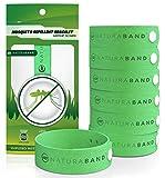 Naturabnd- Bracelets anti-moustiques - Paquet de 7 - Contrôle Totalement Naturel des...