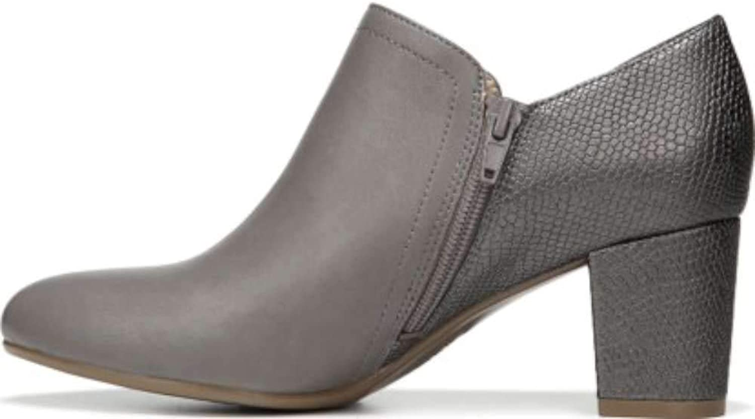 Naturalizer Womens Misha Faux Leather Snake Embossed Shooties