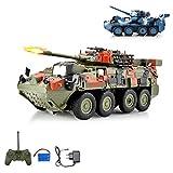 HSP Himoto Leopard RC Ferngesteuerter Kampfwagen Militärfahrzeug Panzer mit Reifen,...