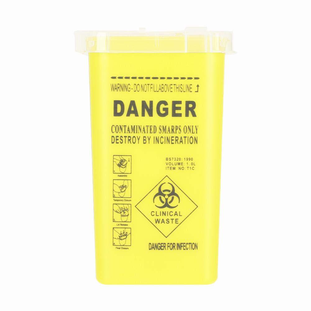 Sharps Container Biohazard Needle Disposal Disp 25% 35% OFF OFF