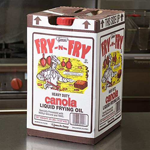 Admiration Fry-n-fry Heavy Duty Canola Liquid Frying Oil, 35 Pound