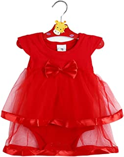 RONSHIN Baby Girl Lovely Sweet Sleeveless Mesh Bowknot Dress Jumpsuits