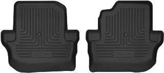 Husky Liners Fits 2018 Jeep Wrangler JL, 2019 Jeep Wrangler - 2 Door X-act Contour 2nd Seat Floor Mat,Black,54641