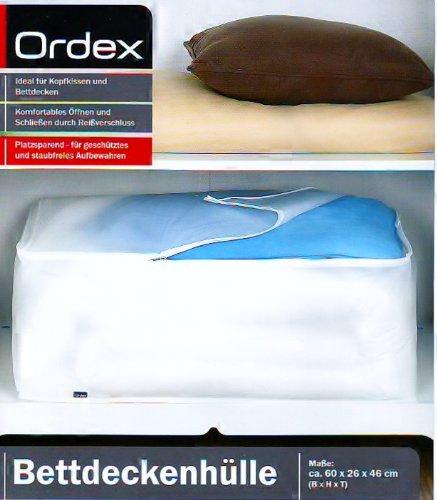 Ordex Bettdeckenhülle Maße 60 x 26 x 46 cm