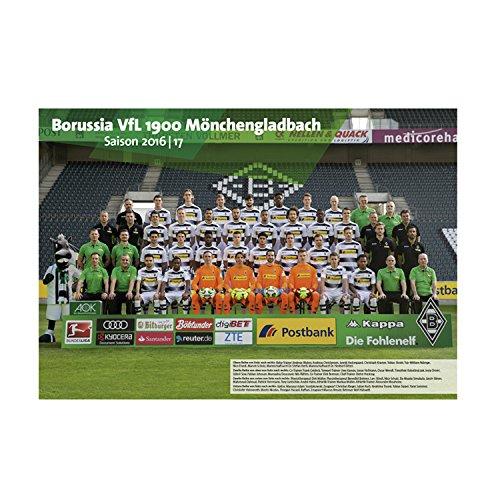 Borussia Mönchengladbach BMG Teamposter gratis Sticker Mönchengladbach Forever, Poster, Mannschaftsposter, Plakat