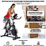 Sportstech Cyclette Professional SX200 - Marchio di qualità Tedesco - Eventi Video e...