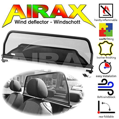 Airax Windschott für The Beetle ab Bj 2012 - Windabweiser Windscherm Windstop Wind deflector déflecteur de vent