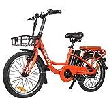 "Trekpower 20""Electric Bike, 250W Dual Disc Brake Electric Bicycle, City Electric Bikes for..."