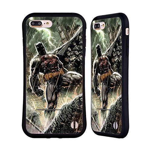 Head Case Designs Oficial Batman DC Comics Nueva Familia 52 Bat Disfraces icónicos Carcasa híbrida Compatible con Apple iPhone 7 Plus/iPhone 8 Plus