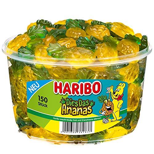 HARIBO - Dies das Ananas - Weingummi - 150 Stück
