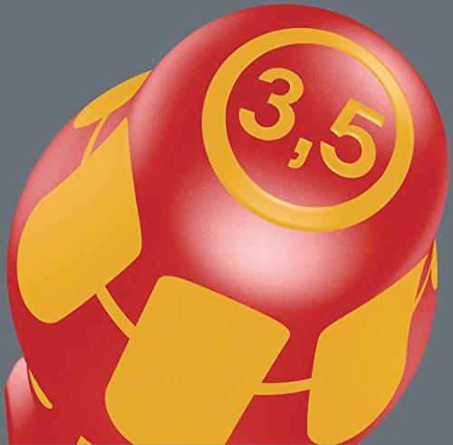 Wera Schraubendrehersatz 160 i/7 Rack Kraftform Plus + Spannungsprüfer + Rack, 7-teilig, 05006147001 - 17