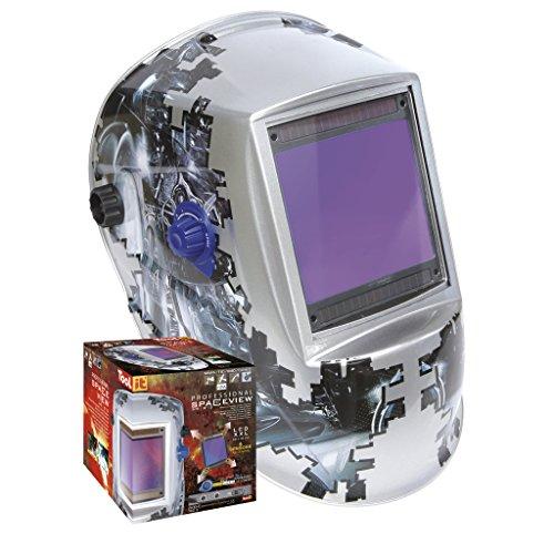 GYS LCD–Casco de soldadura spaceview 5–9/9–13, 1pieza,...
