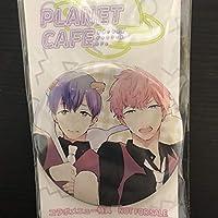 倉橋トモ 缶バッジ コミコミスタジオ コラボカフェメニュー特典 ピンクとまめしば