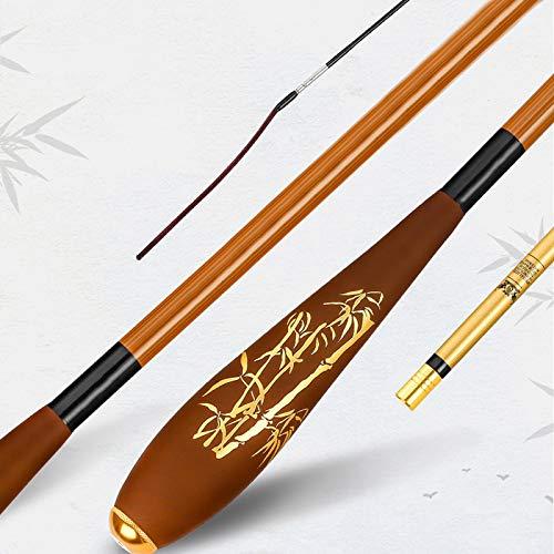 hkwshop Caña de Pescar Tipo de vibración Crucian Carpa Rod Ultra-Fina Ultra-Luz Mano ultraateral Rod Caña de Pescar Diaylai Caña Telescópico (Size : 5.4meters)