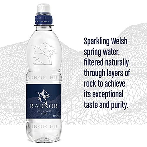 Radnor Hills Still Spring Water Sports Cap – 24x500ml