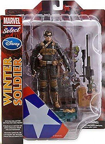 tomar hasta un 70% de descuento Marvel Marvel Marvel Select Exclusive Action Figure Winter Soldier by Marvel  Garantía 100% de ajuste