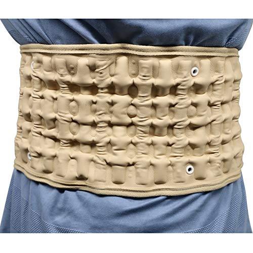 Newooh Cinto de descompressão para coluna lombar, suporte de tração lombar, dispositivo para mulheres e homens — Tamanho único para cinturas de 73,6 a 124,5 cm