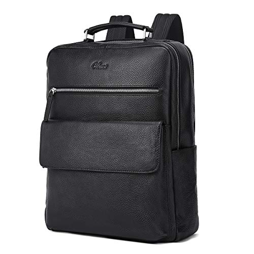 CLUCI Rucksack M?nner Echtleder 15,6 Zoll Laptoptasche Gro? Reisetasche Business Designer...