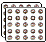 Incredible Value: each package comes with 50 stickers! This is a great value for what you get! Perfect for teachers, planners, crafts, parties, journals, cards and other paper crafting projects. Can also be applied to windows, walls, laptops, and mor...