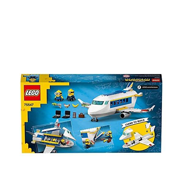 LEGO 75547 Minions El Origen de GRU, Minion Piloto en Práctica, Avión de Juguete para Niños y Niñas +4 años con Mini…