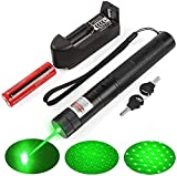 Green Light Flashlight Adjustable Focus with Visible Torch Lightfor Camping Hiking Hunting Fishing
